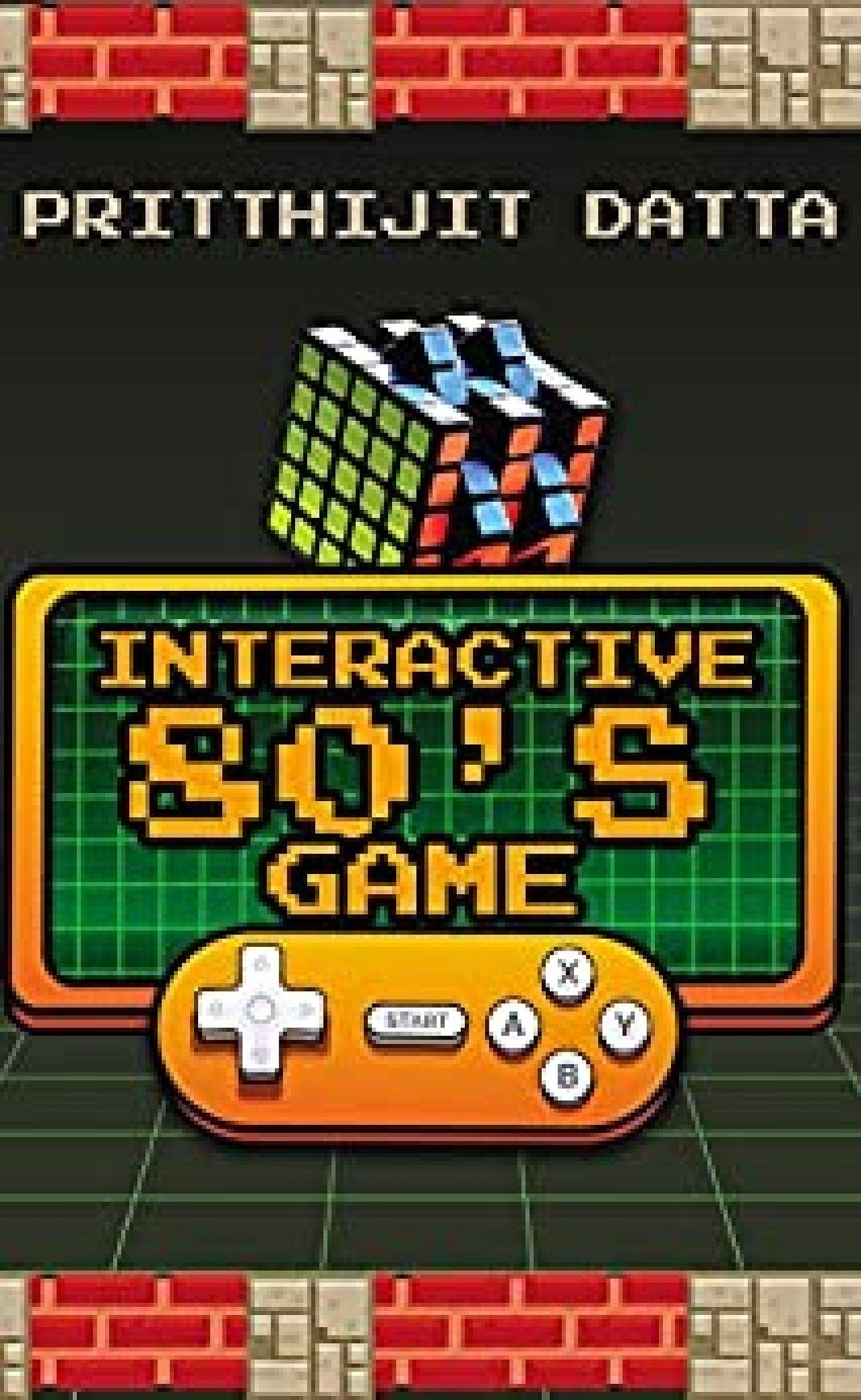 Interactive 80s Game book