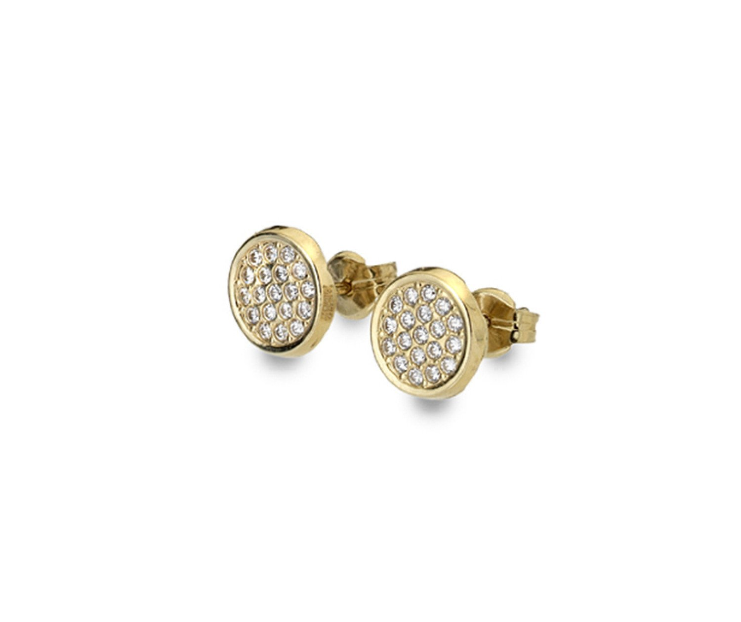 Large collection of 9ct gold earrings from Callibeau Jewellery
