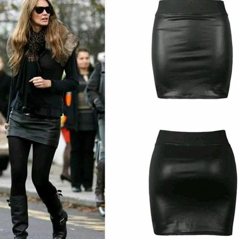 Wet Look Mini-Skirt  £13.49 inc P&P