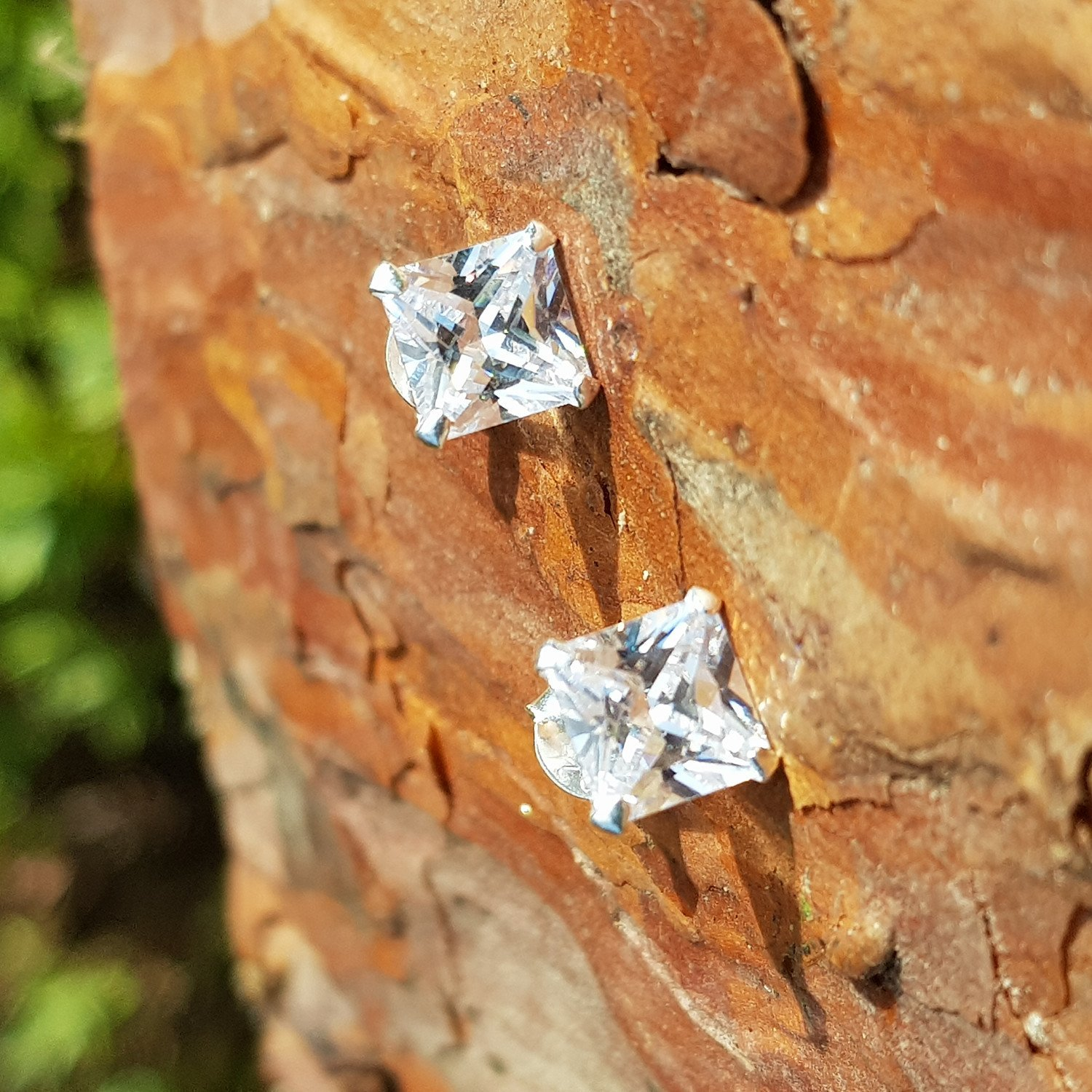 Gold and Silver Stud Earring Collection from Callibeau Jewellery