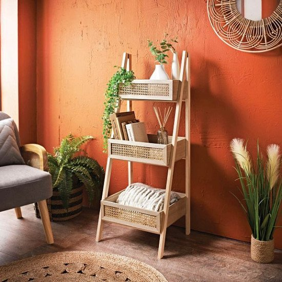 NEW IN - Urban Paradise 3 Tier Ladder Shelf, Natural £50.00!