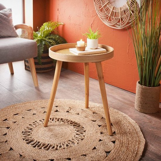 NEW IN - Urban Paradise Side Table, Natural £15.00!