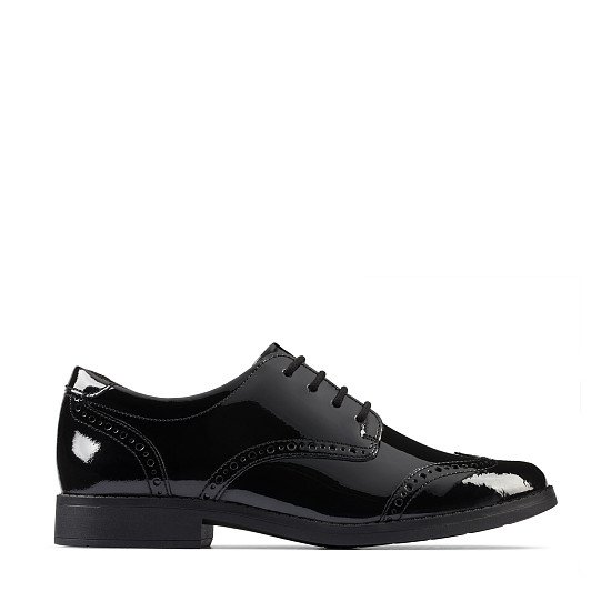 BACK TO SCHOOL - Aubrie Craft Youth Black Patent, £48.00!