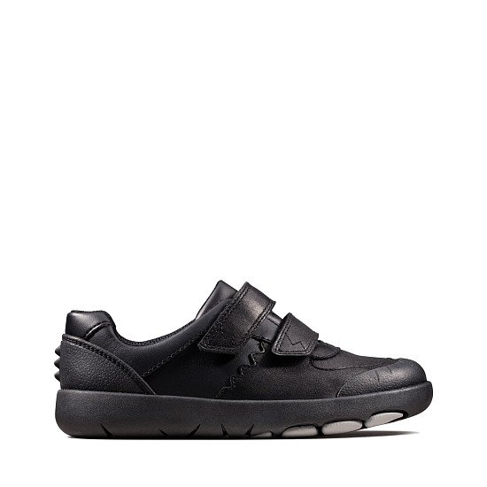 BACK TO SCHOOL - Rex Pace Kid Black Leather, £44.00!