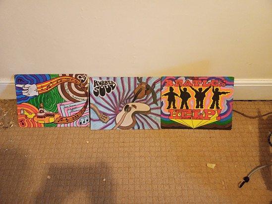 Beatles album artworks