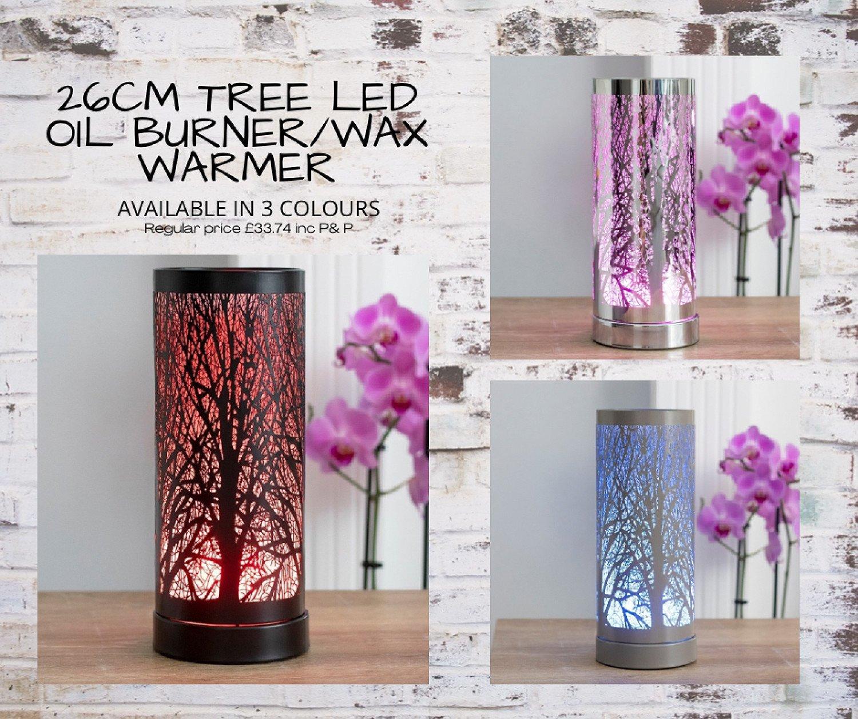 26CM TREE LED OIL BURNER/WAX WARMER