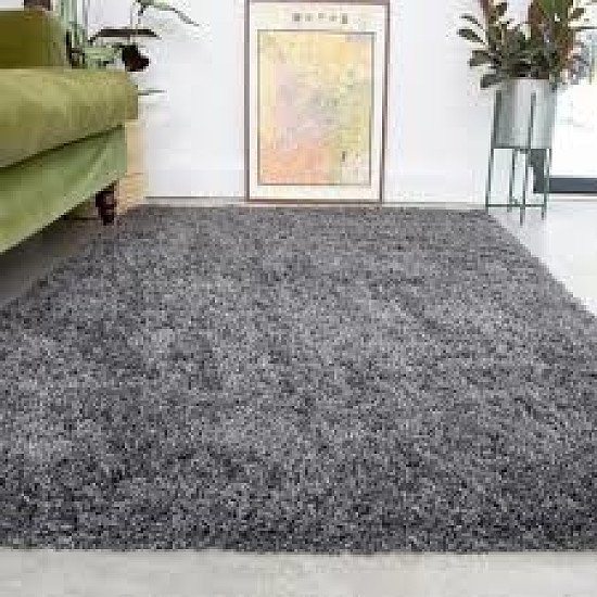 Super Soft Luxury Grey Shaggy Rug - Aspen - different sizes and prices in description Free Postage