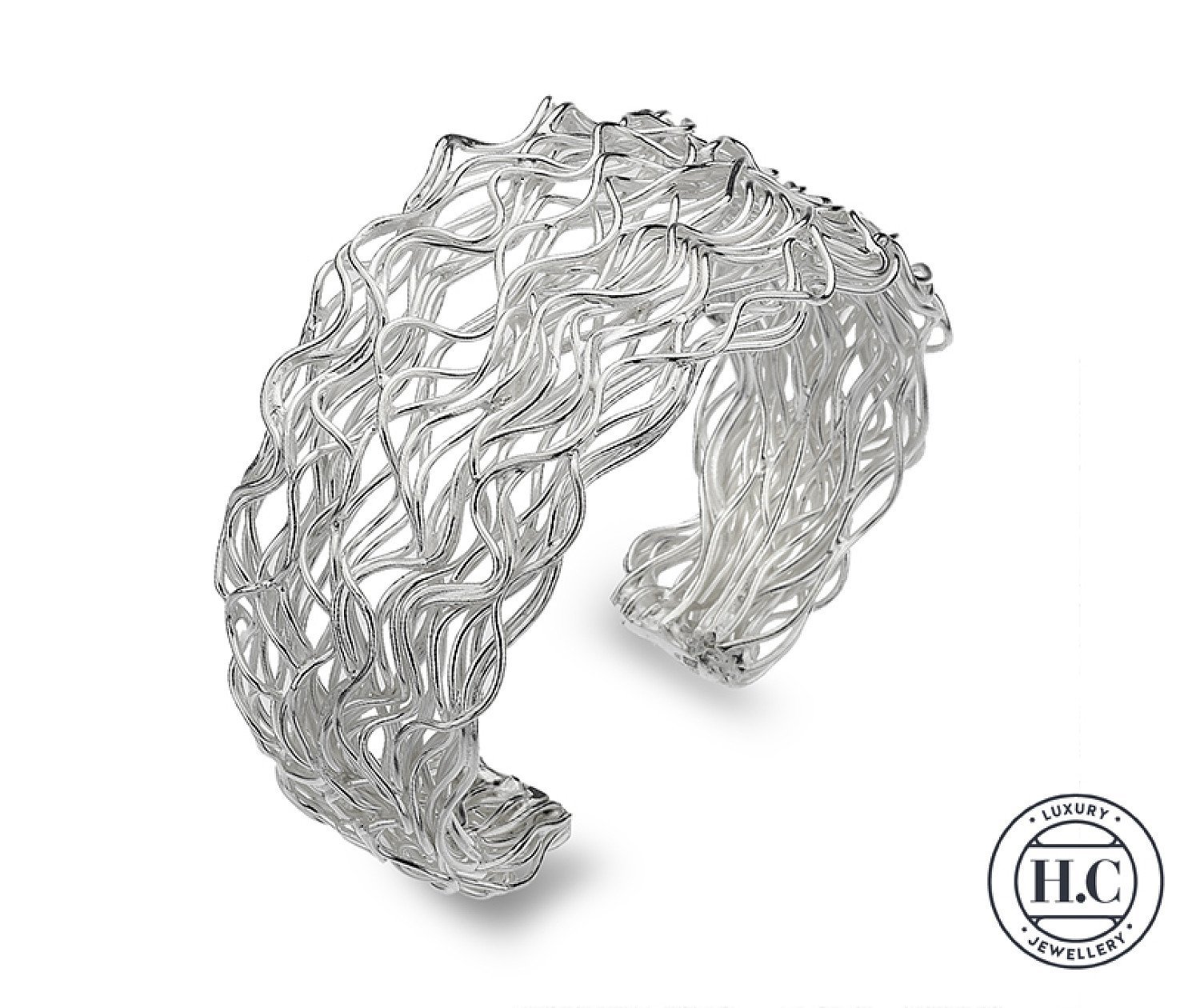 GORGEOUS SILVER BANGLES FROM CALLIBEAU JEWELLERY