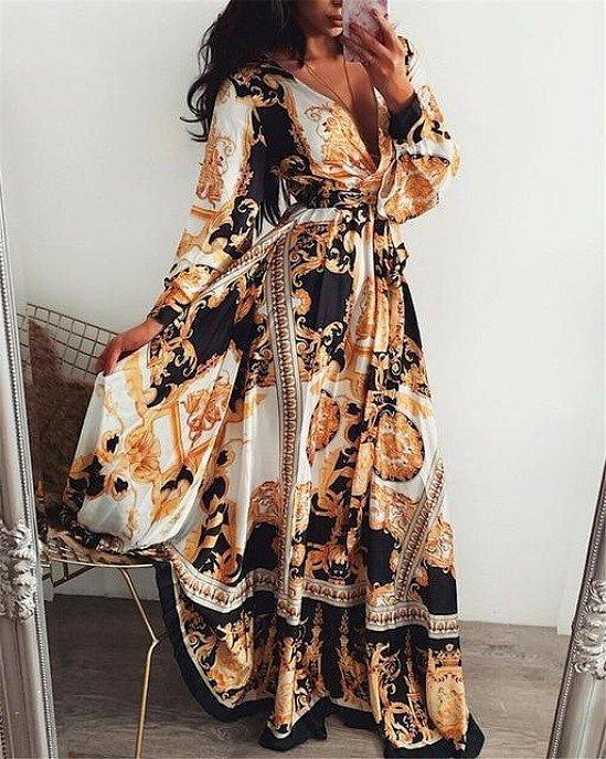 Save 30% on the Boho Wrap/Long,Summer Dress