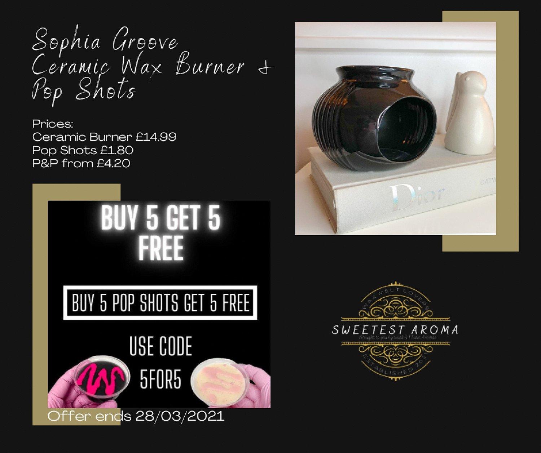 Ceramic Burner and Pop Shots