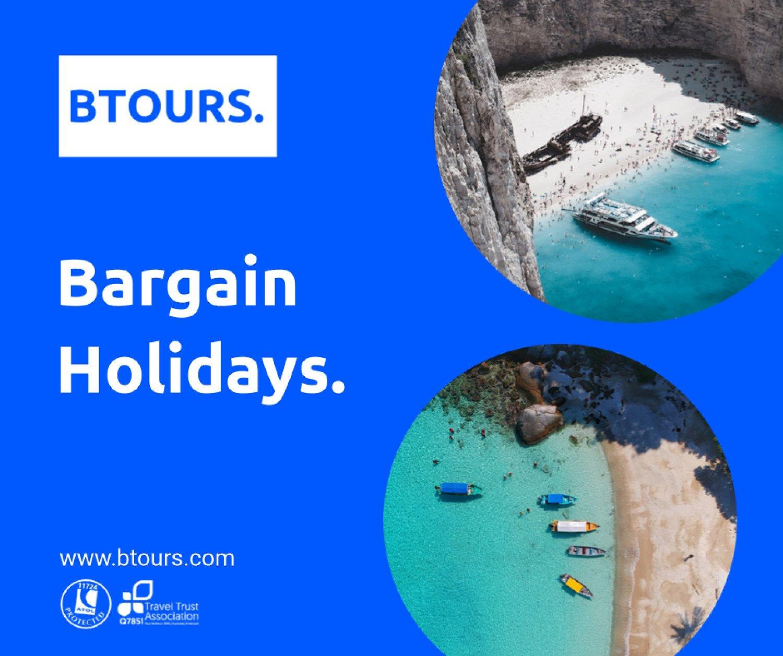 Bargain Holidays by BTOURS.COM