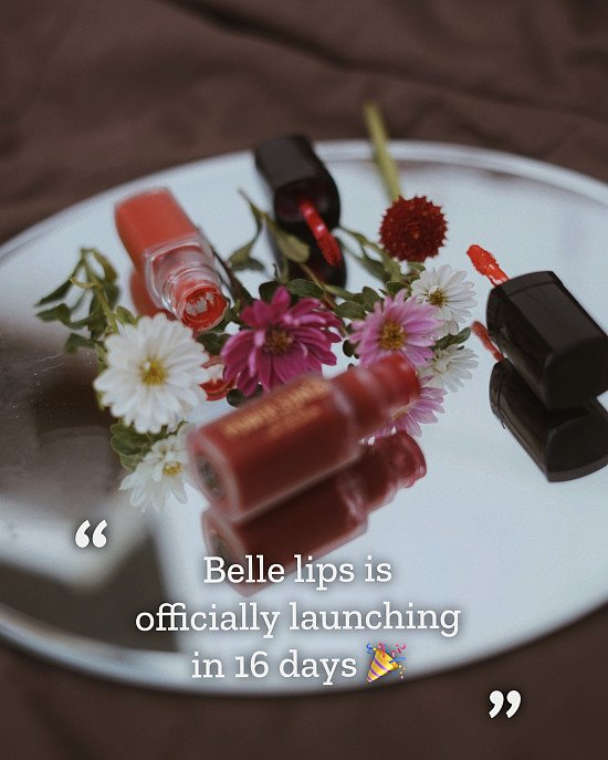 Belle Lipbar launch