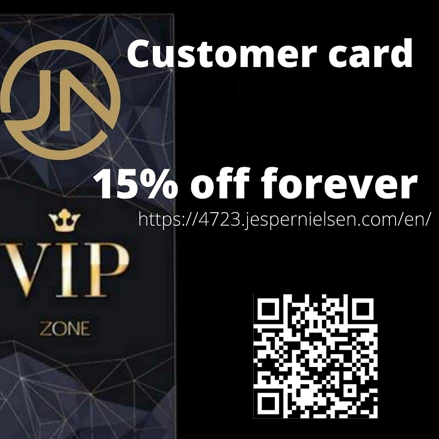 15% off forever
