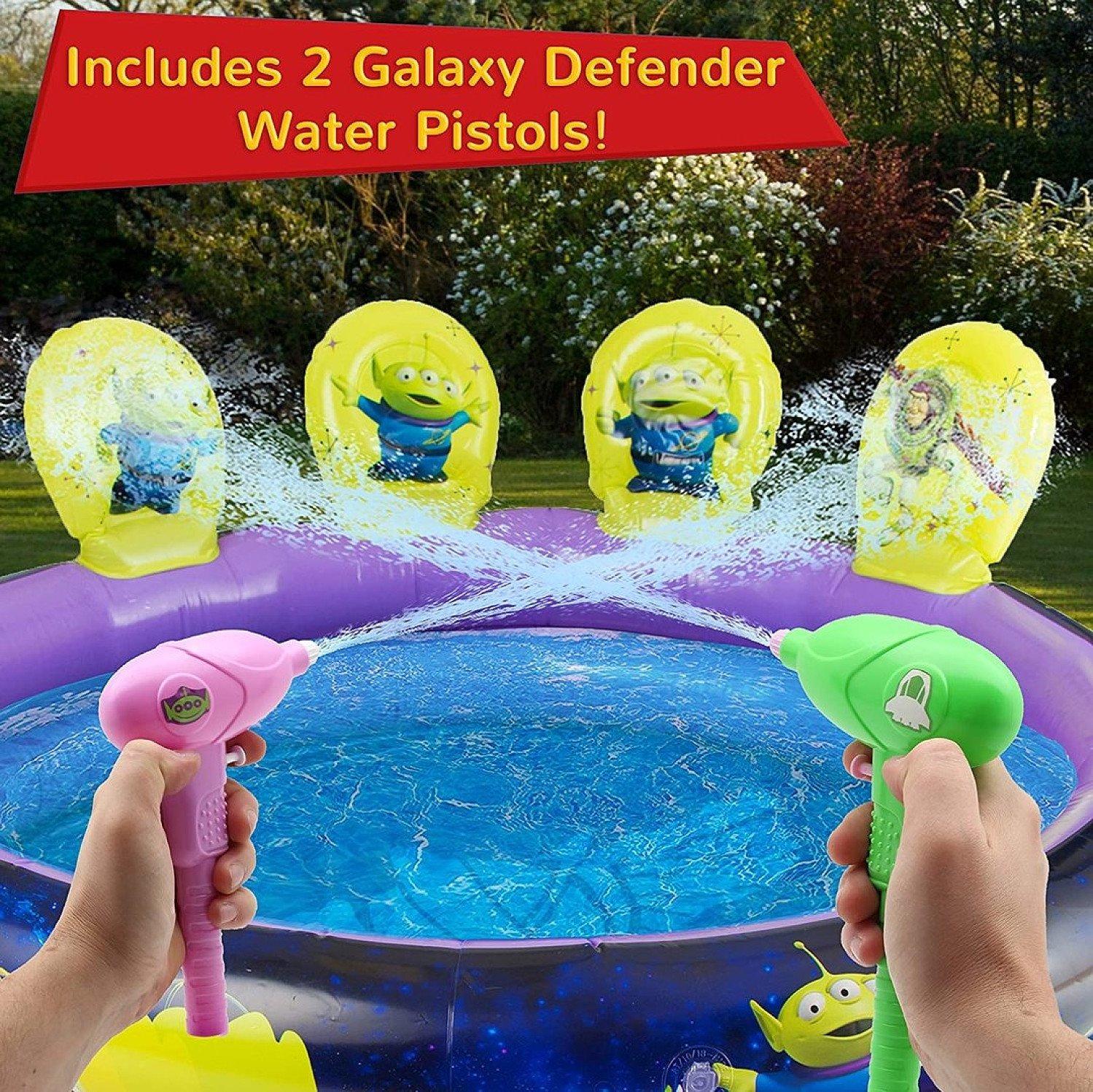 Toy Story 4 Inflatable Paddling Pool + Target Shooting +2 Water Guns