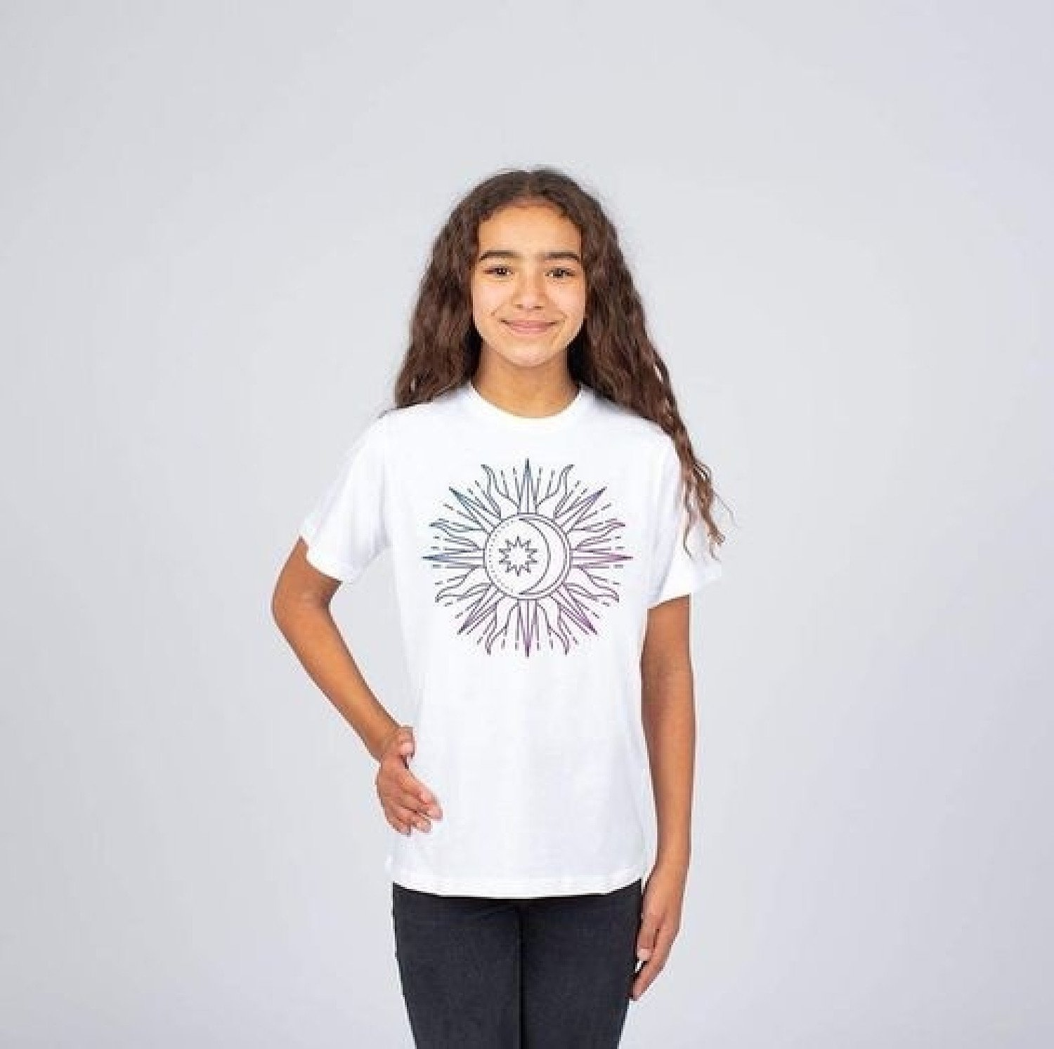 Girls 'Sun Moon Tee' £15
