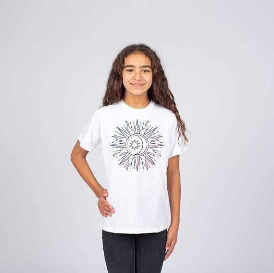 Girls 'Sun Moon Tee' £15