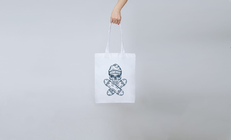 Skate Skull Tote Bag   £11