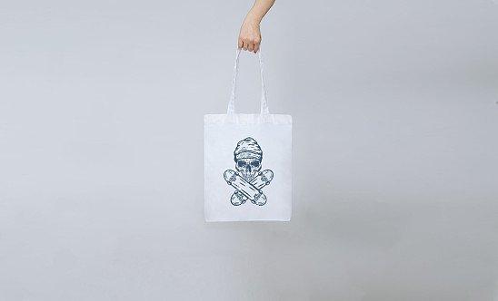 Skate Skull Tote Bag | £11
