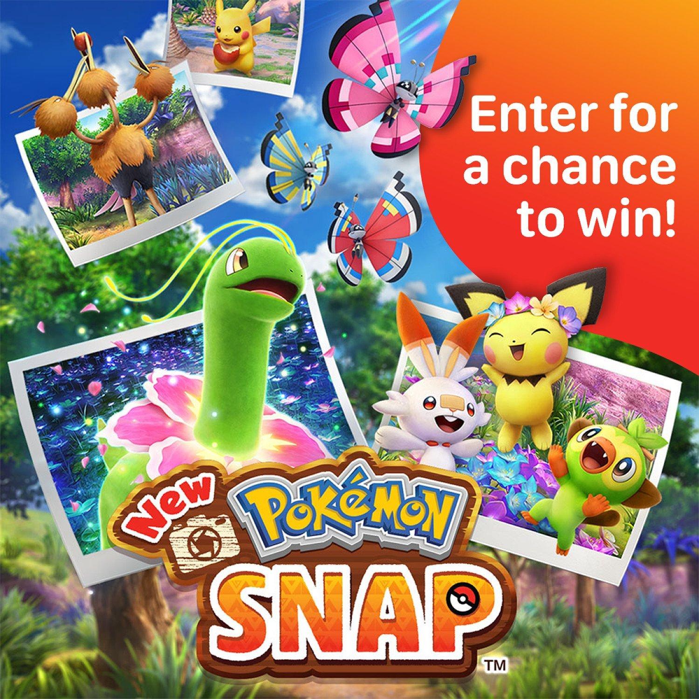 WIN the New Pokémon Snap for Nintendo Switch