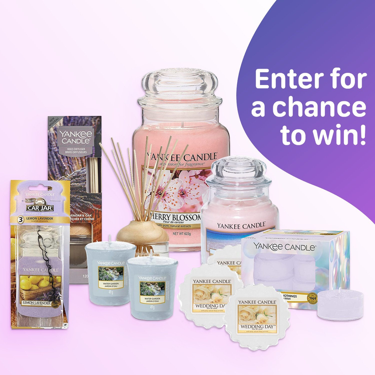 WIN the Yankee Candle Flora Scent Bundle