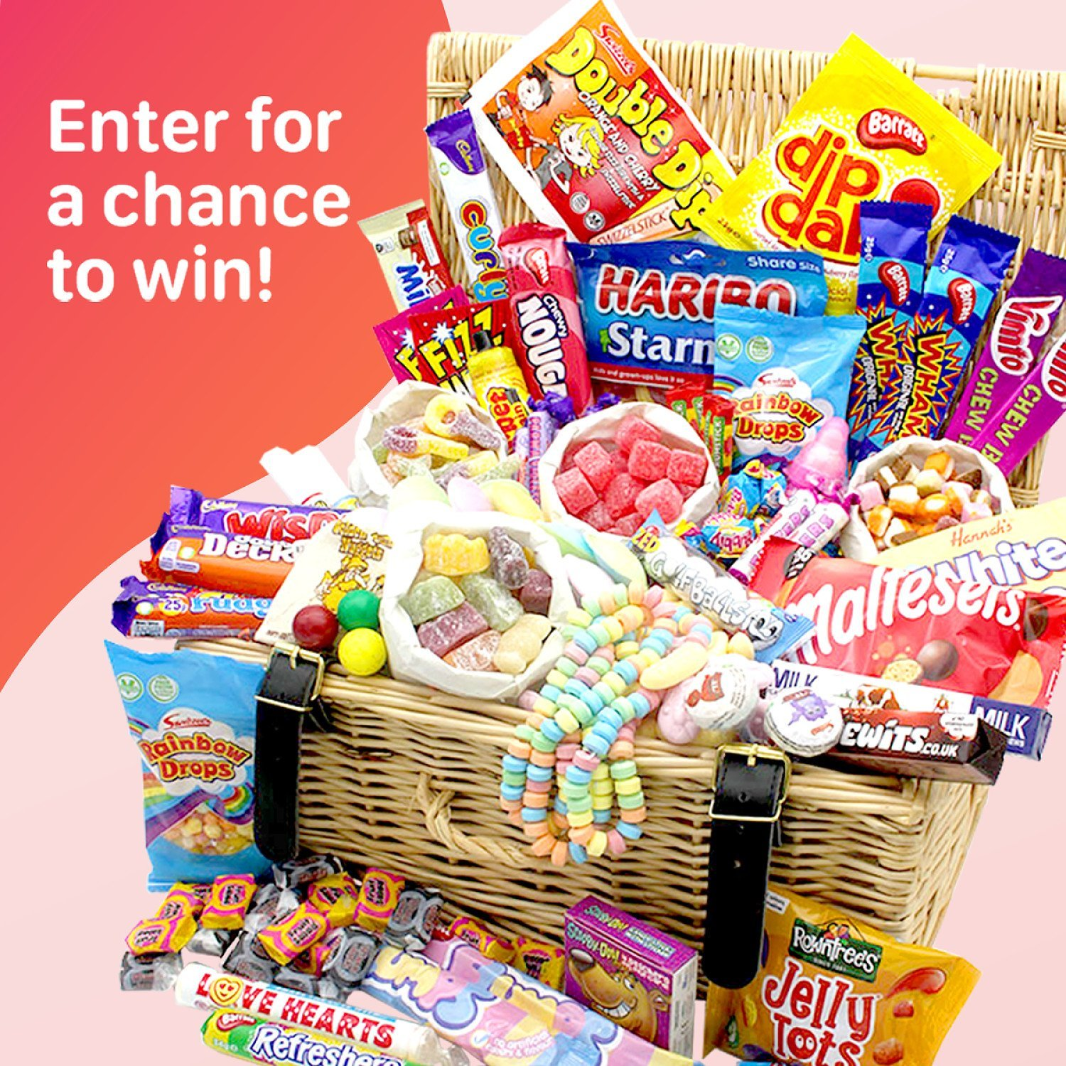 WIN this Mega Retro Sweets Hamper with a staggering 50 types of tuckshop classics