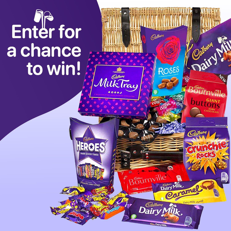 WIN a Cadbury Chocolate Basket