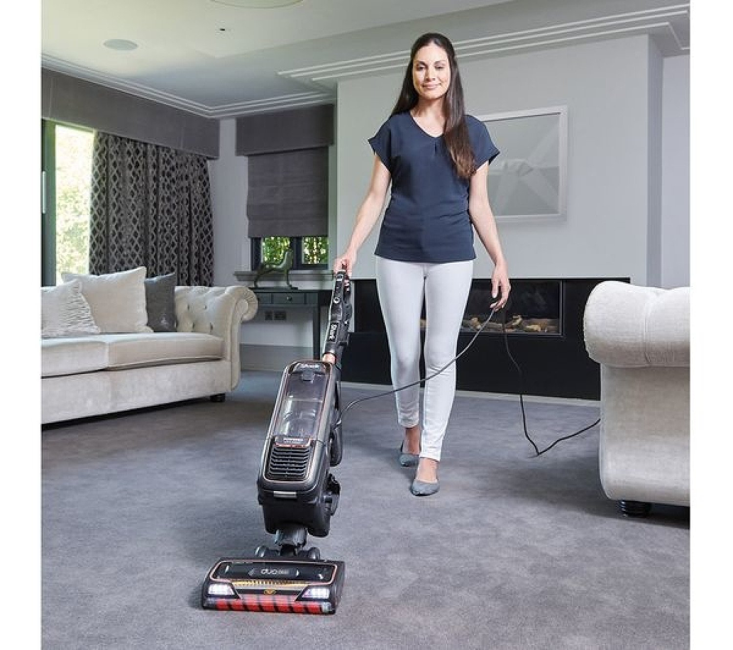 SAVE - Shark Anti Hair Wrap Upright Vacuum Cleaner XL with Powered Lift-Away and TruePet