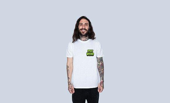 Stay Weird Tee. £15