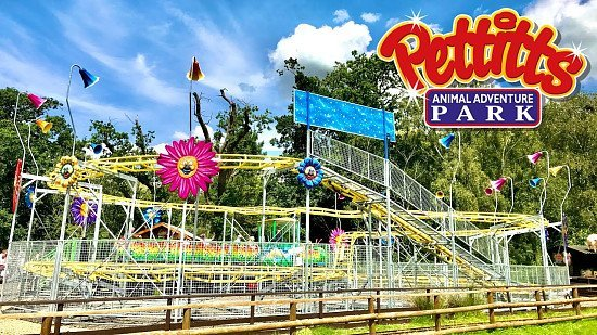 Up to 34% off Pettitts Adventure Park with a £1 Kids Pass Trial!