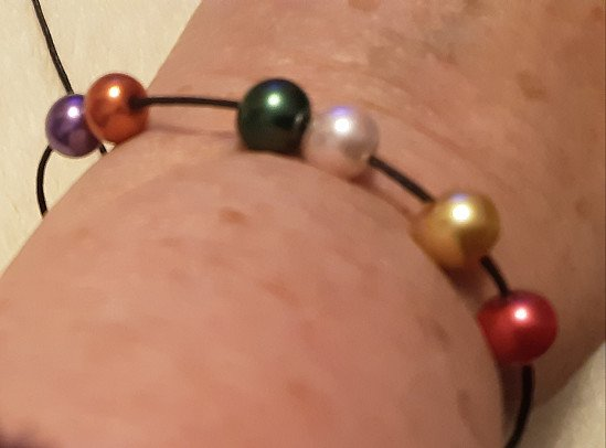 Adjustable Beaded Bracelets and Necklaces on Coloured Chord