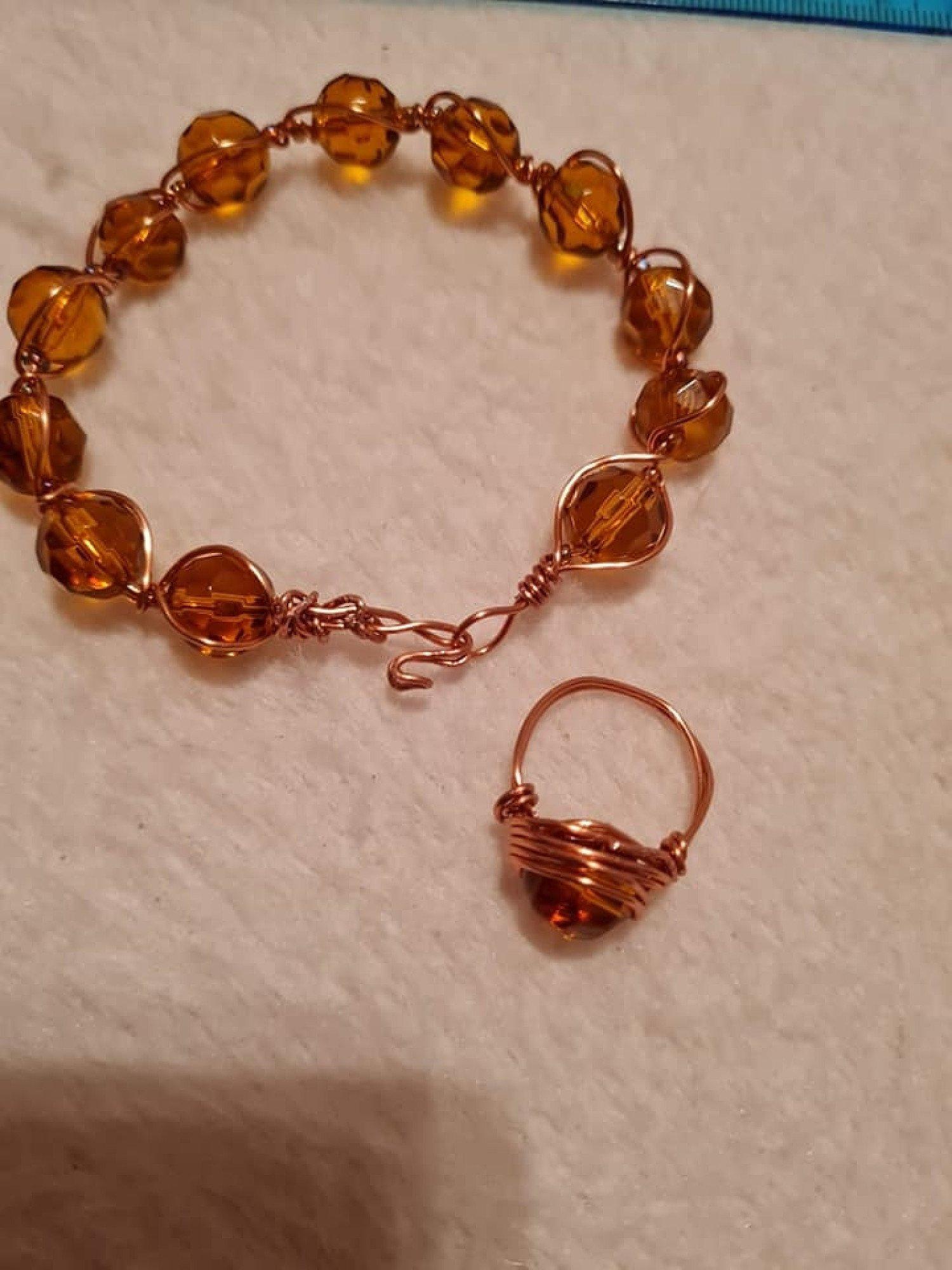Braided Wire Bracelets