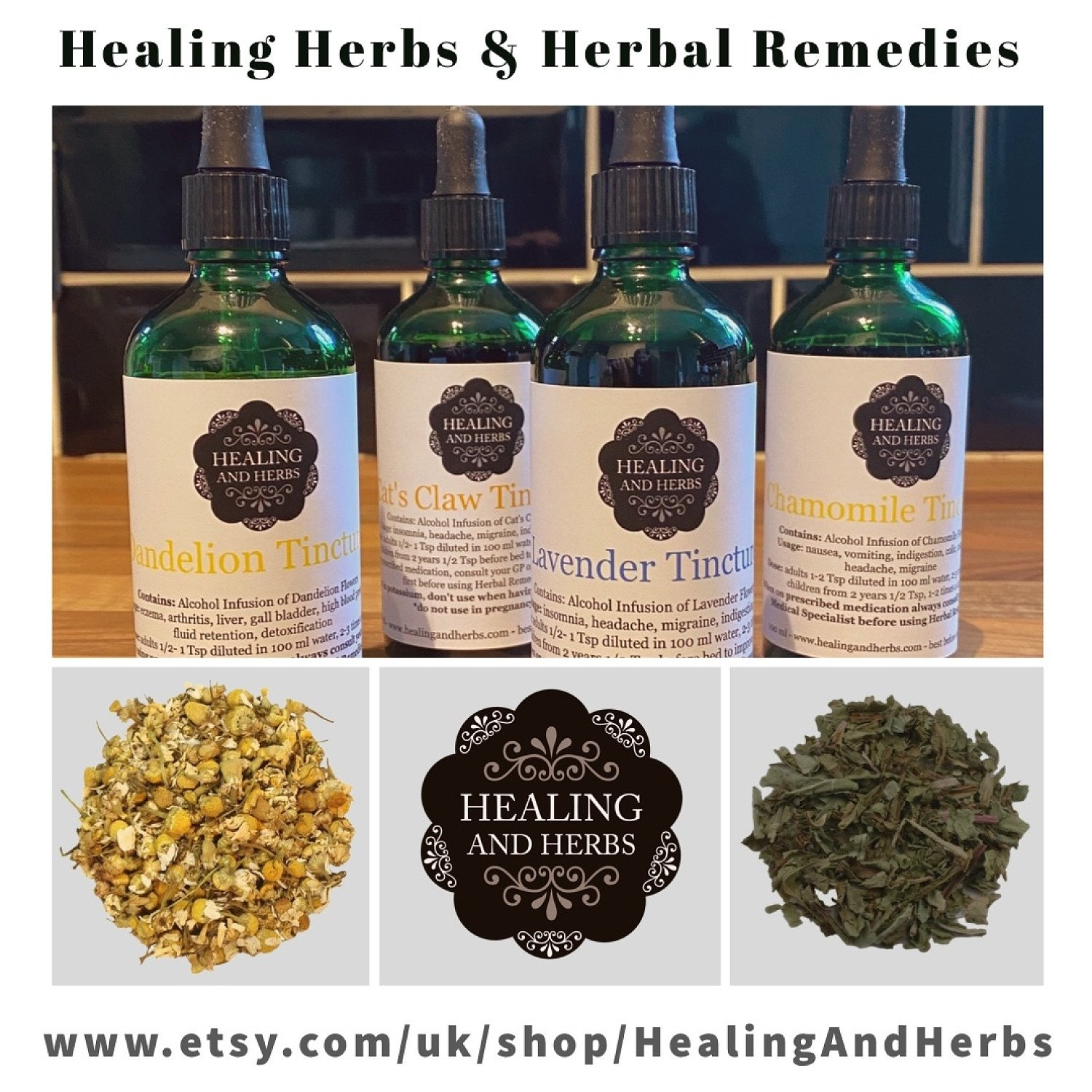 Check out our Online Herbal Shop!