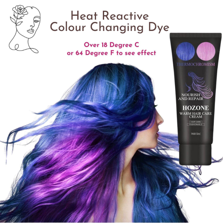 Heat Reactive Colour Changing Dye