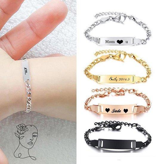 Personalised Baby Bracelet