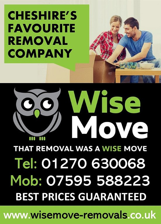 House Removals 20% Discount Nantwich & Surrounding Areas