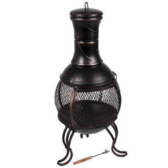Chiminea Outdoor Garden Heater Fire Pit