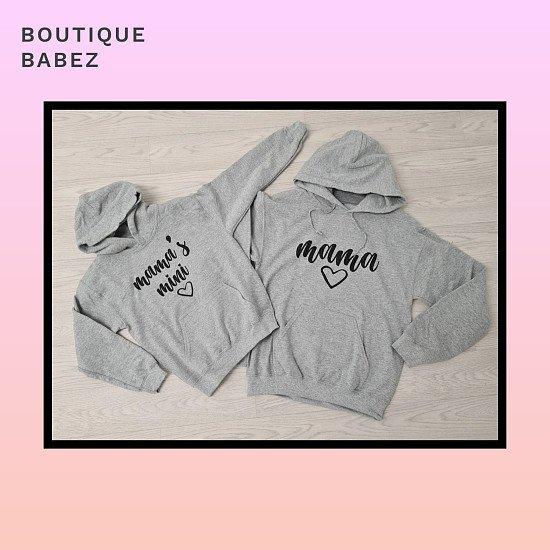 Mamas mini hoodie - grey £19.99