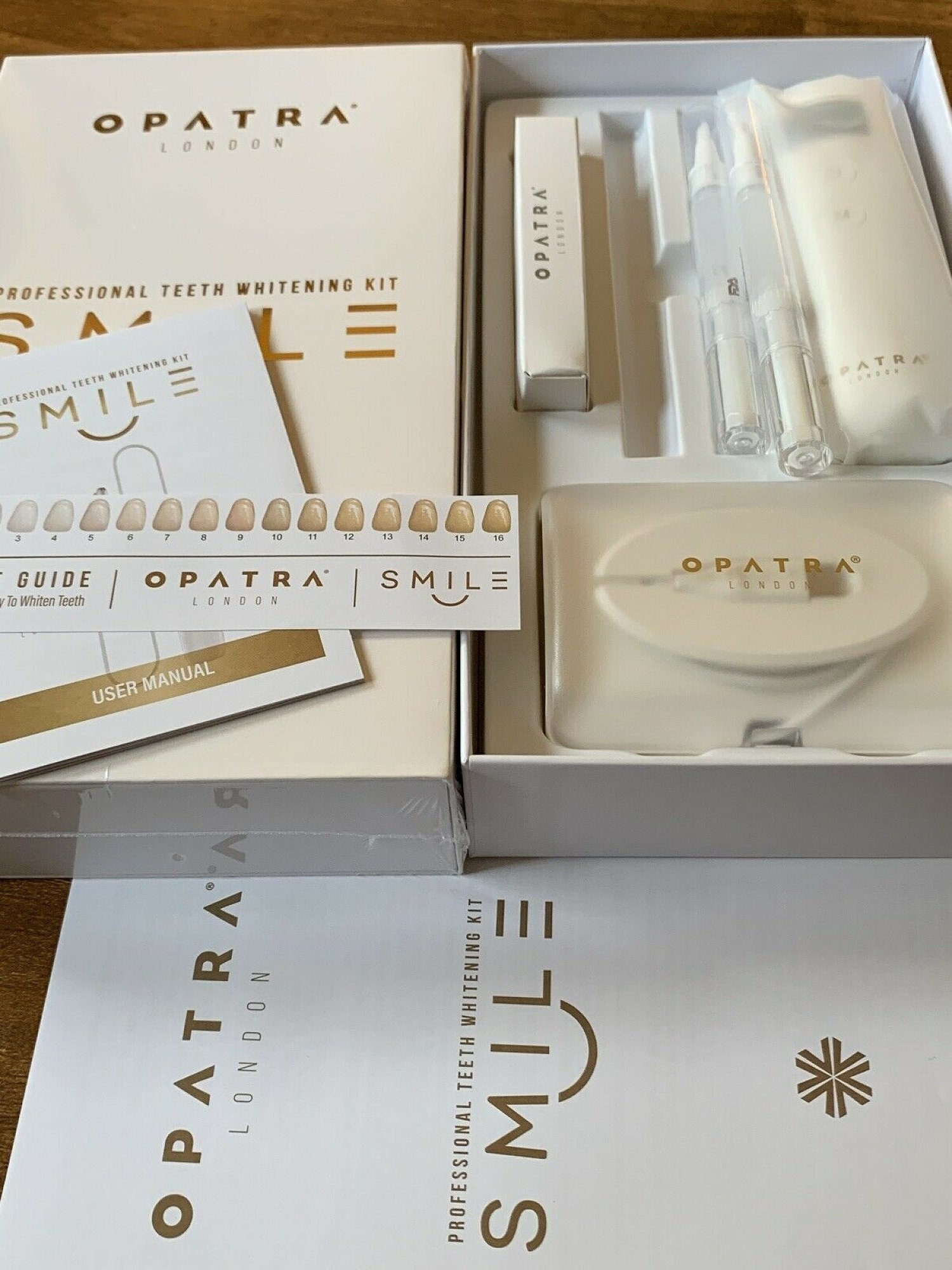 Opatra Smile Teeth Whitening Kit worth £599
