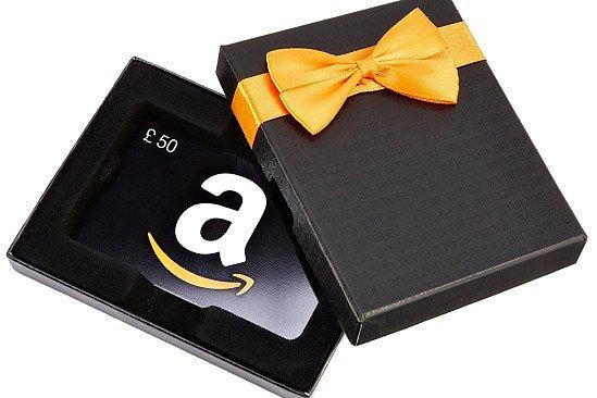 Amazon voucher worth £50