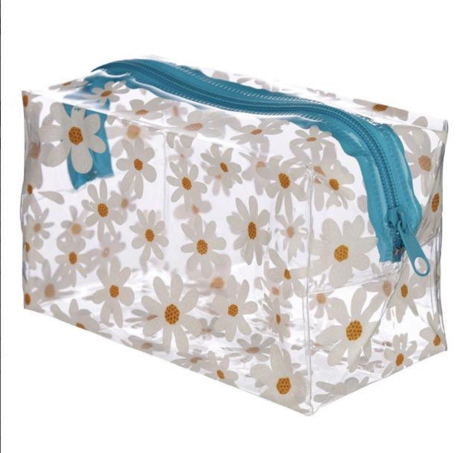 Handy Clear PVC Wash Bag - Oopsie Daisy