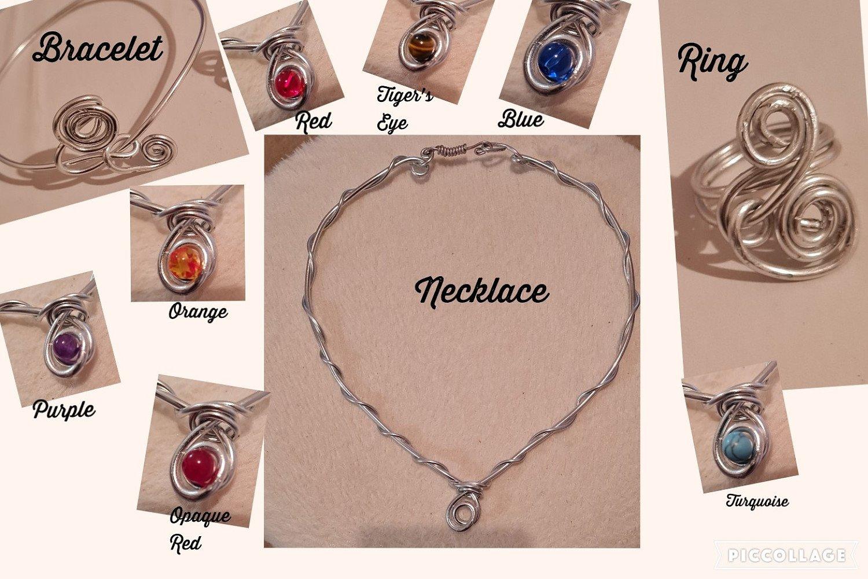 Chunky jewellery range