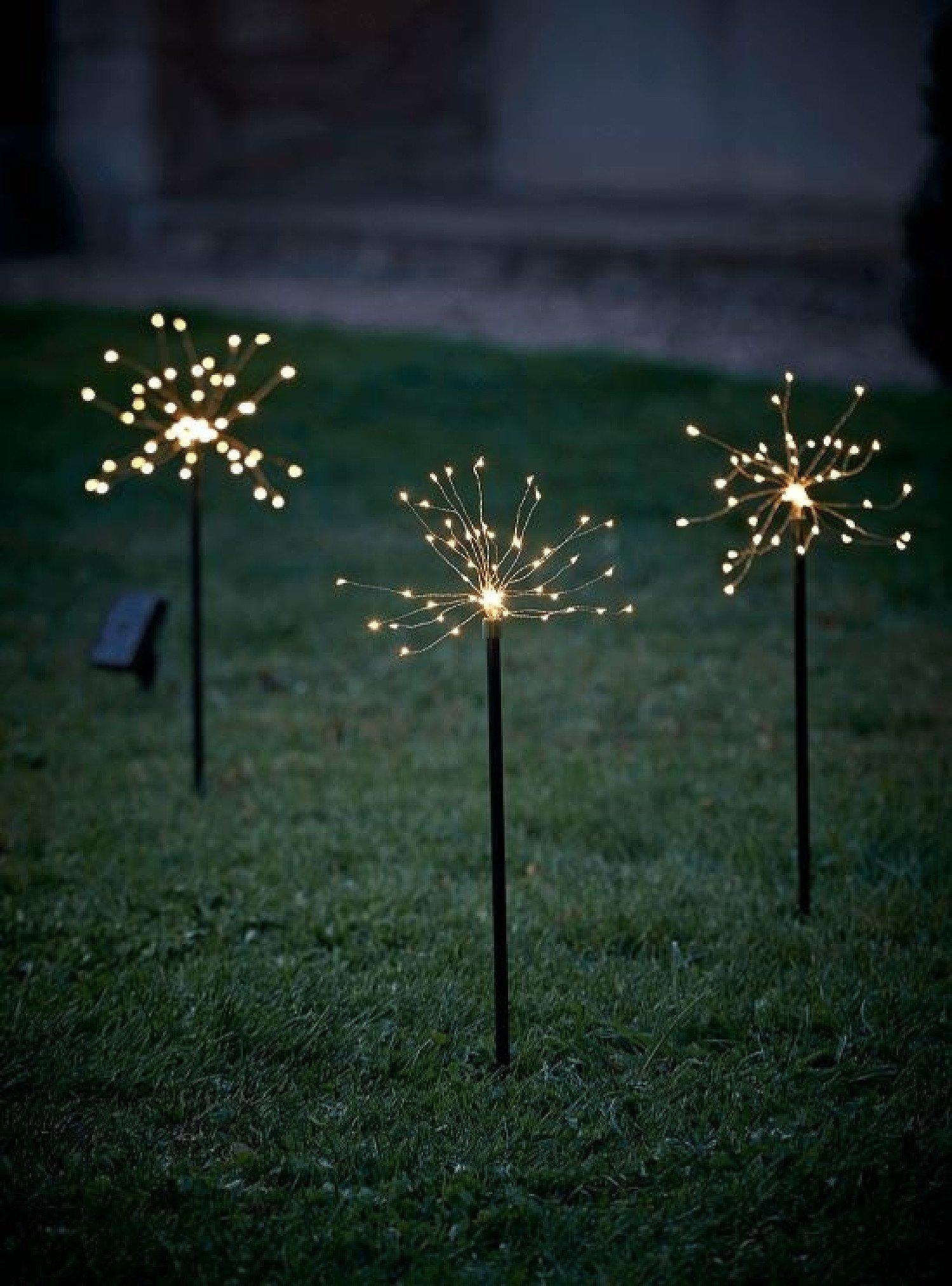 NEW Three Starburst Stake Lights - £45.00!
