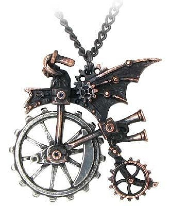 'VENTUS TRACTION FARTHING' - STEAMPUNK PENDANT