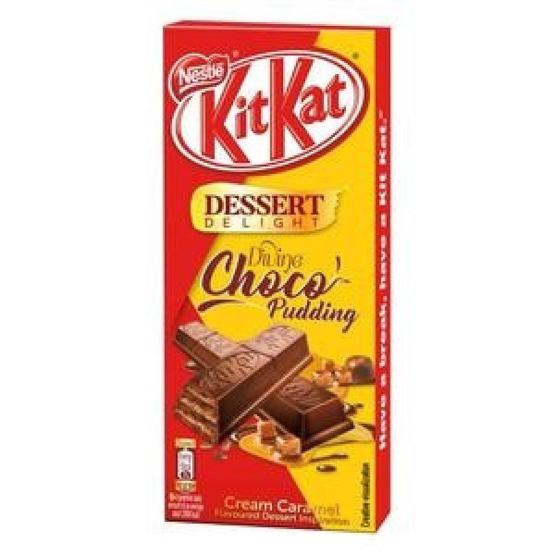 KitKat Divine Choco Pudding Cream Caramel