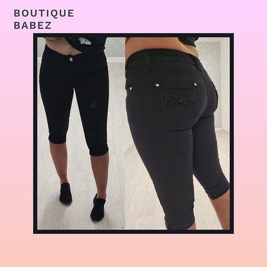 Bow Back Shorts - Black £21.99