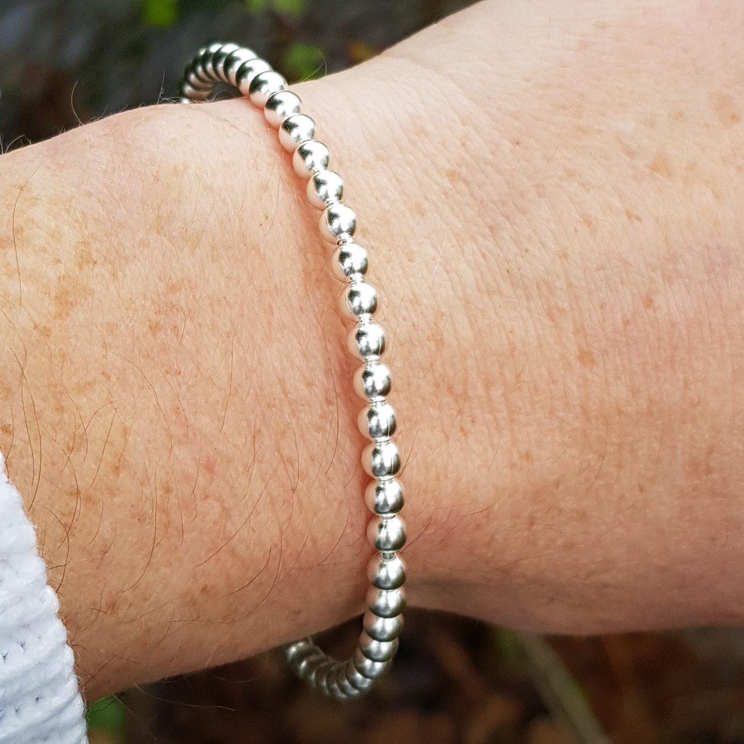 SILVER BANGLE - ONE ONLY - WAS £59 NOW £30 WITH CODE
