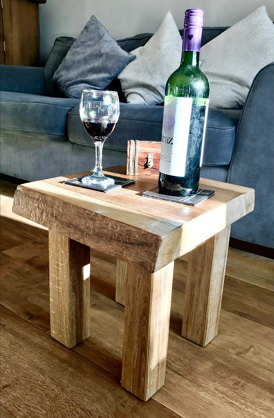 Save £10 off this beautiful handmade Solid Oak Coffee Table, FREE DELIVERY