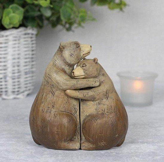 Bear Hug Couple Ornament