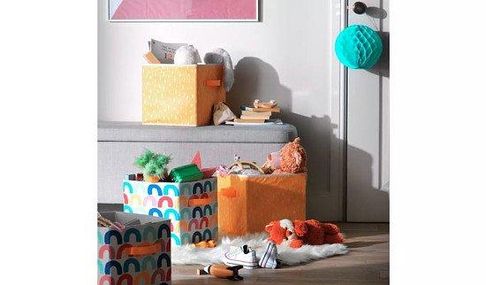 Argos Home Rainbow Play Canvas Boxes: £20.00!