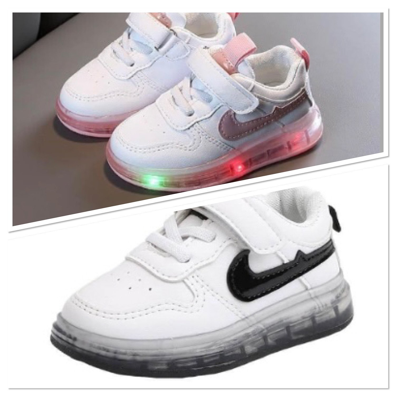 LED kids shoes casual baby shoes toddler shoes